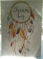 DREAM BIG 5X7 PRINT RV $9