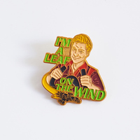 Firefly Wash Leaf on the Wind Lapel Pin