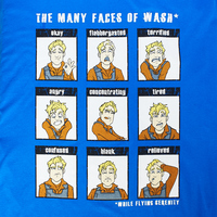 Firefly Many Faces of Wash Tee