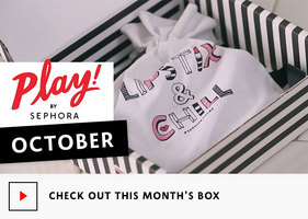 Sephora play drawstring bag October 2016