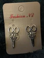 Edward Scissorhands Inspired Earrings