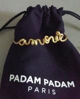 Padam Padam Paris Amour Gold Bracelet