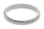 Brandi Silver Scrollwork Ring