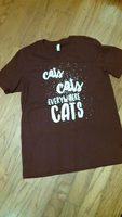 """Cats Cats Everywhere"" T-Shirt"