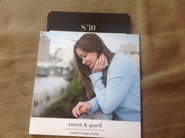 Sweet and Spark vintage jewelry $30 gift card