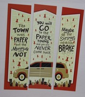 Paper Towns Bookmark Set