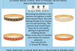 Halcyon Days Rose Bangle