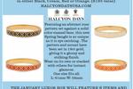 Halcyon Days Rose Bangle