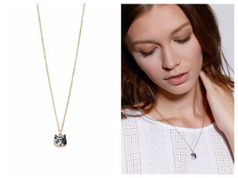 Cat Necklace - Golden Tote
