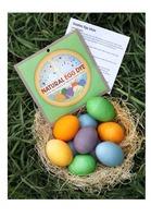 Natural Earth Paint Egg Dye
