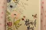 Shannon Kirsten thank you card