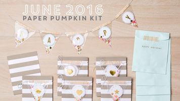 Stampin' Up! Paper Pumpkin Full Kit