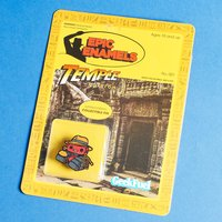 'Temple' Fuel Epic Enamels Pin