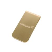 Owen & Fred Jet Set 747 Brass Money Clip