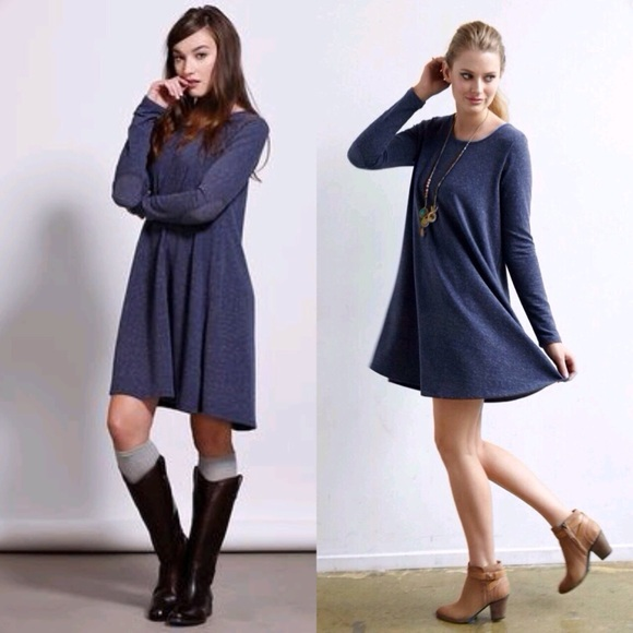 Priddy by Puella Elbow Patch Dress