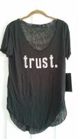 """Trust"" tee by Press"