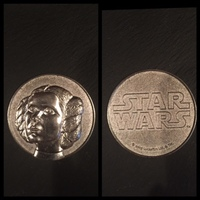 Star Wars Princess Leia Coin