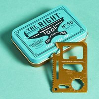 Gentleman's Hardware Credit Card Tool
