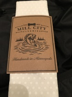 Mill City Fineries Cotton Pocket Square