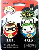 Funko Pop! Pin- Robin & Joker set