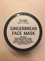 Powder gingerbread face mask