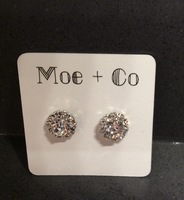 Moe + Co Sparkle Stud Earrings