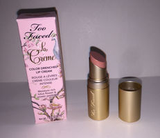 Too Faced La Creme Color Drenched Lipstick in Naked Dolly