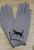 Soft Kitty Winter Gloves Custom for CatLadyBox