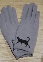 Soft Kitty Winter Gloves Custom for CatLadyBox