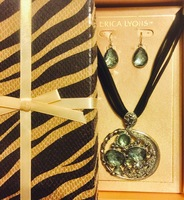Erica Lyons Giftboxed Earring & Necklace Set