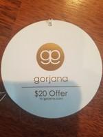 Gorjana $20 off online order