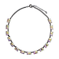 Ariel Collection Crystal Rainbow Necklace