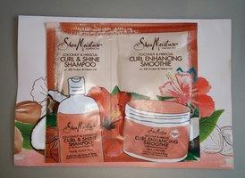 Shea Moisture Curl & Shine Shampoo & Curl Enhancing Smoothie