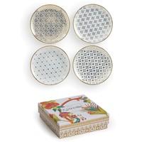 Kashmir appetizer plate set of four