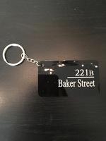 221B Baker Street keychain