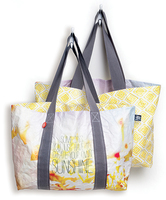 """Create Sunshine"" Reversible Tote"