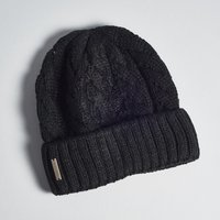Soia & Kyo Olivia Cable Knit Hat - Black