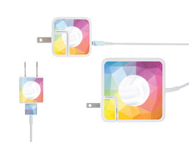 MEO MULTI PACK CHARGER LABELS-GEOMETRIC DESIGN