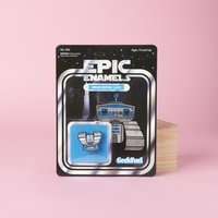 Epic Enamels Pin: Droid Edition