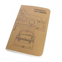 Owen & Fred Porsche 911 Notebook