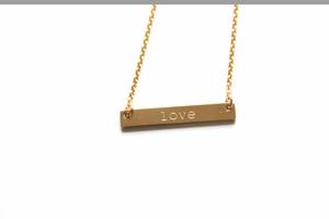 Jook & Nona Tag Necklace