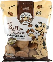 Exclusively Dog Cookies vanilla wafers