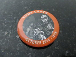 Loot Crate Fear pin