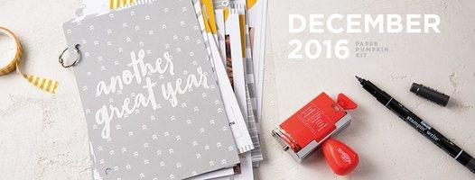 Dec '16 Mini Scrapbook Kit