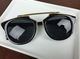 Black and Gold Dior Inspired Shades