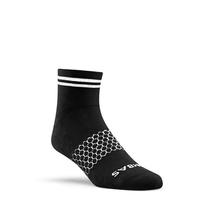 Bombas Striped Quarter Socks