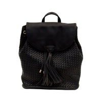 DEUX LUX BOWERY BACKPACK IN BLACK