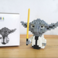 Pixel Yoda Nanoblock (DIY Build)