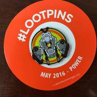 Loot Crate May 2016 Power LootPin