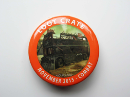 Loot Crate November 2015 Combat Pin